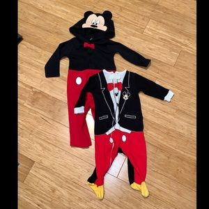 "Mickey Mouse ""Suit"" Duo"